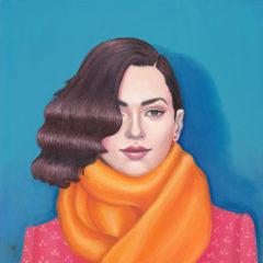 ARABELLA_PROFFER_OrangeScarf
