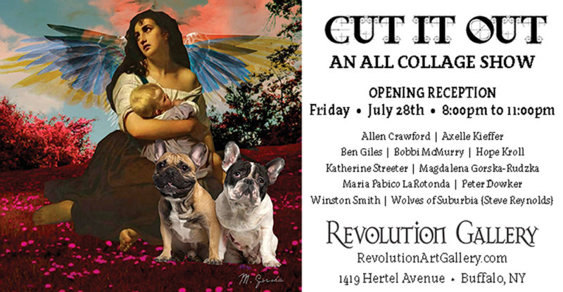 CURRENT EXHIBIT  |  CUT IT OUT: An All Collage Show  July 28th to August 28th, 2017