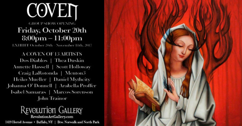 CURRENT EXHIBIT  |  COVEN October 20th to November 18th, 2017