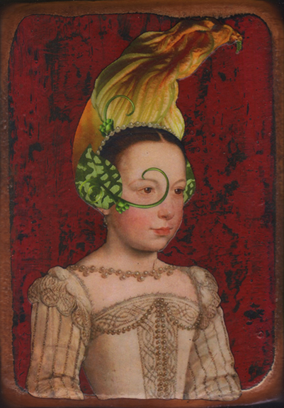 "Kass Copeland |  ""Squash Flower""  