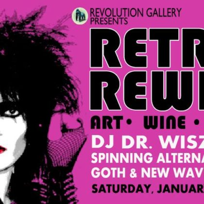 Retro Rewind 9 • Saturday | January 27th, 2018  |  8:00pm