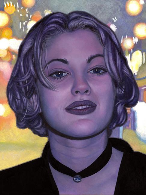 """Johannah O'DonnellDrewAcrylic on wood9"""" x 12""""   •  $335."""