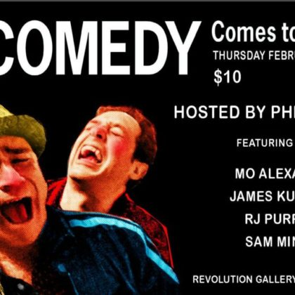 Comedy Comes to Hertel Ave <br> Thursday, February 1st, 2018  |  8:30pm