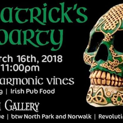 St Patrick's Day Party<br>Friday, March 16th, 2018  |  8:00pm