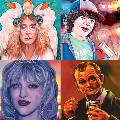 """Closing Reception for """"Pop Star""""<br>Saturday, March 31st, 2018<br>6:00pm to 9:00pm"""