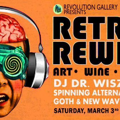 Retro Rewind 10 <br> Friday, March 3rd, 2018  |  8:00pm