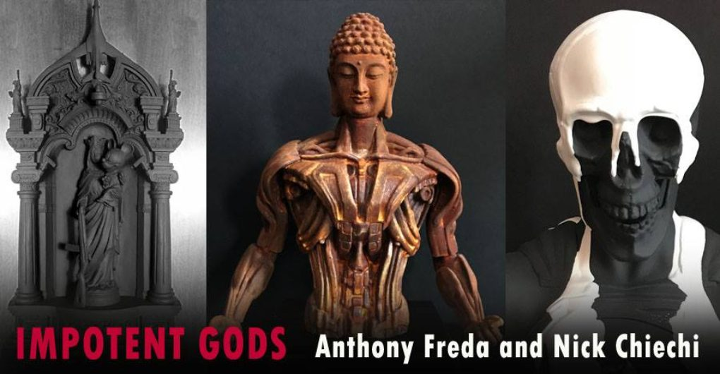 CURRENT EXHIBIT  |  Impotent Gods — Opening Friday, April 6th<br>EXHIBIT: April 6th to May 19th, 2018