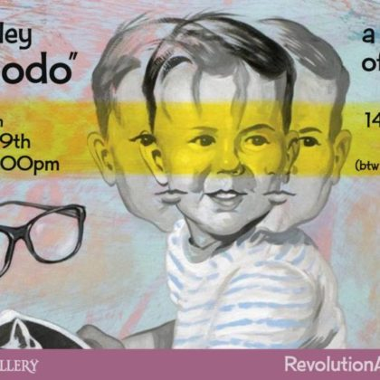 Also Modo<br>Solo Show of David Brinley's New Work<br>Friday, June 29th, 2018  |  6:30pm