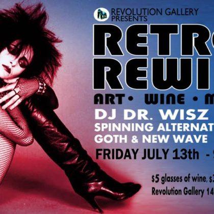 Retro Rewind<br> Friday, July 13th, 2018  |  9:00pm