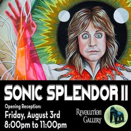 Sonic Splendor II<br>Friday, August 3rd  |  8:00pm