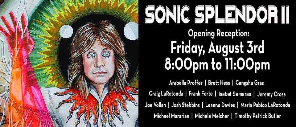SONIC SPLENDOR II</br>Opening Friday, August 3rd, 2018  |  EXHIBIT: August 3rd to September 2nd, 2018