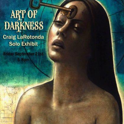 Art of Darkness<br>Craig Larotonda<br>Thursday, September 21st  |  8:00pm