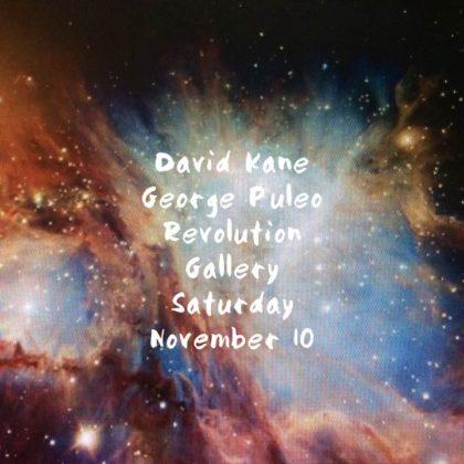 David Kane and George Puleo<br>Saturday, November 10th  |  8:00pm