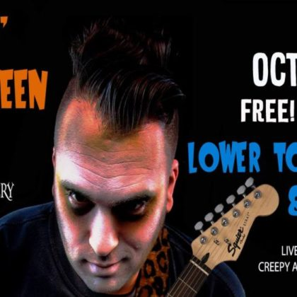 Rockin' Halloween Party<br>Saturday, October 27th<br>8:00pm — 1:00am