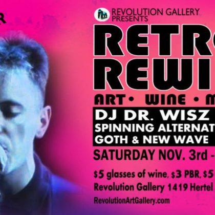 Retro Rewind 17<br>Saturday, November 3rd  |  9:00pm