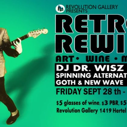 Retro Rewind 16<br>Friday, September 28th  |  9:00pm