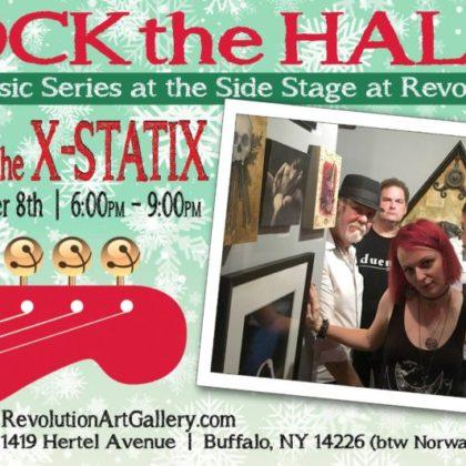 Elena and the X-statix<br>Saturday, December 8th    6:00pm