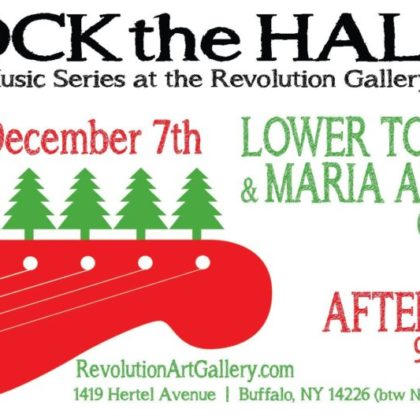 Holiday Walk Weekend<br>Lower Town Trio and After Hours<br>Friday, December 7h    6:00pm