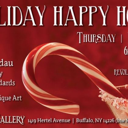 Holiday Happy Hour<br>with Sandra Stimers and Billy Brandau<br>Thursday, December 6th    6:00pm