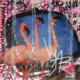 BOUFFARD_Pink flamingo