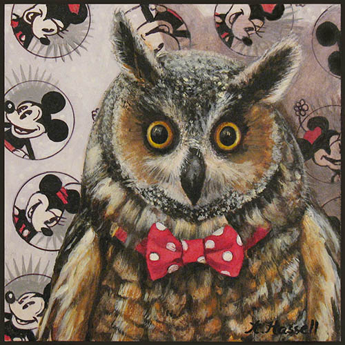 "Annette Hassell  |  ""Owl's Obsession""  