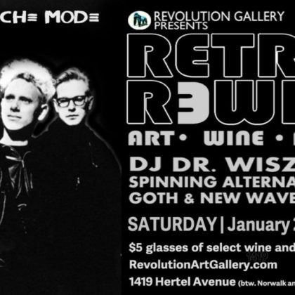 Retro Rewind 18<br>Friday, January 26th  |  9:00pm