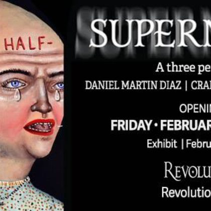 Diaz, LaRotonda, Stonehouse<br>Opening Reception<br>Friday, February 15th  |  8:00pm – 11:00pm