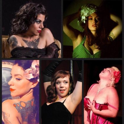 An Intimate Valentine's Day Soiree<br>with the Stripteasers<br>Saturday, February 9th |  8:00pm