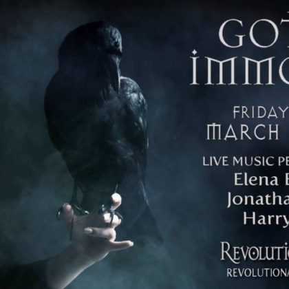 Gothic Immortal<br>Friday, March 1st  |  8:00pm