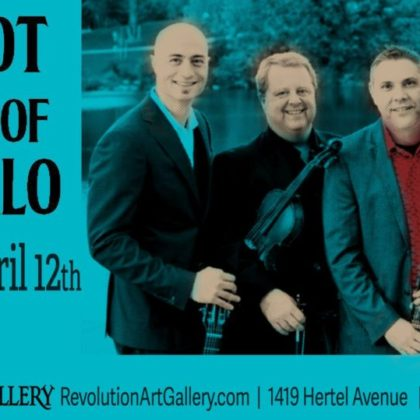 The Hot Club of Buffalo<br>Friday, April 12th |  8:00pm