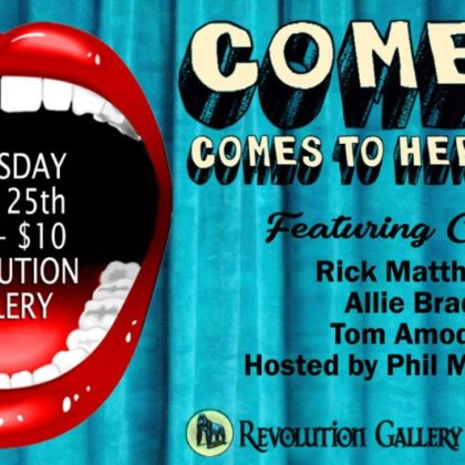 Comedy Comes to Hertel<br>Thursday, April 25th |  8:00pm