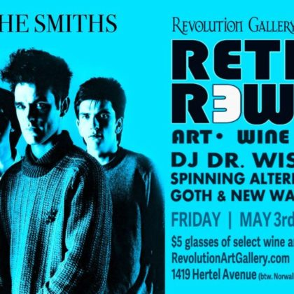 Retro Rewind 20<br>Featuring the music of The Smiths<br>Friday, May 3rd |  8:00pm