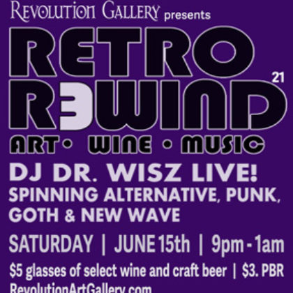 Retro Rewind 21<br>Saturday, June 15th |  9:00pm