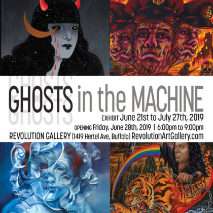 Ghosts in the Machine Opening Reception<br>Friday, June 28th |  6:00pm