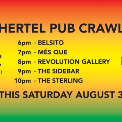 Hertel Pub Crawl<br>Saturday, August 3rd |  6:00pm