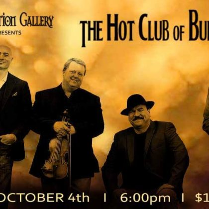 The Hot Club of Buffalo<br>Friday, October 4th<br>6:00pm – 9:00pm
