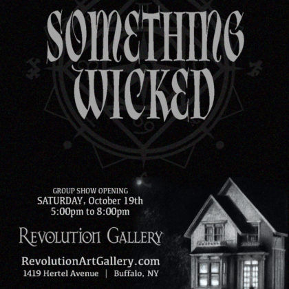 Something Wicked<br>Saturday, October 19th<br>5:00pm – 8:00pm