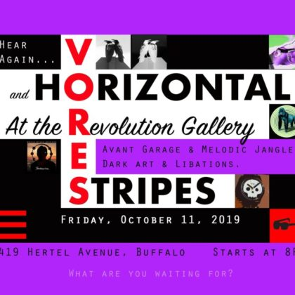 The Horizontal Stripes and The Vores<br>Friday, October 11th<br>8:00pm