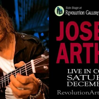 Joseph Arthur<br>Saturday, December 7th<br>8:00pm