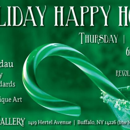 Holiday Happy Hour<br>Thursday, December 5th<br>6:00pm