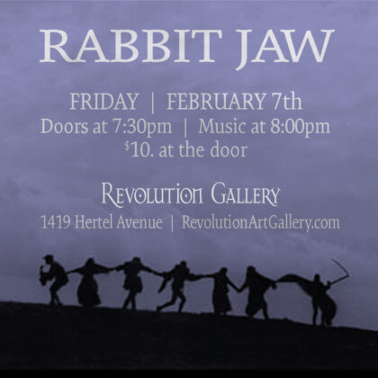RABBIT JAW<br>Friday, February 7th  |  8:00pm