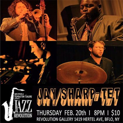 JAY / SHARP-TET<br>Thursday, February 20th  |  8:00pm
