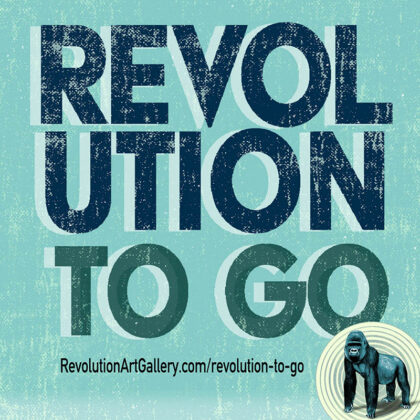 TAKE-OUT and CAFÉ MENUS<br>Revolution To Go or Patio Seating