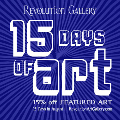 15% OFF Featured Artwork</br>DAY 12 – CHRIS GALLEY