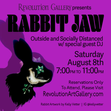 RABBIT JAW Outside and Socially Distanced<br>Reservations Required<br>Saturday,  August 8th, 2020  |  7:00PM