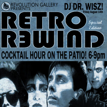 RETRO REWIND: Vinyl Cocktail Hour on the Patio<br>Reservations Recommended<br>Friday  •    August 14th, 2020  |  6:00PM