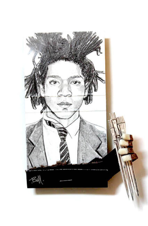 Basquiat Matchbook