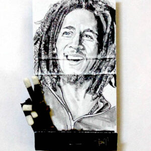 Bob Marley Matchbook