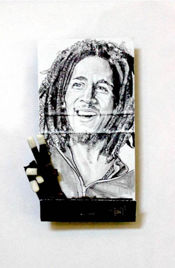 Bob Marley Matchbook