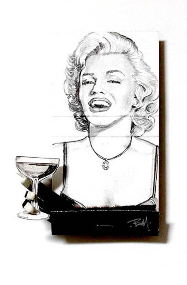 Marilyn Monroe Matchbook